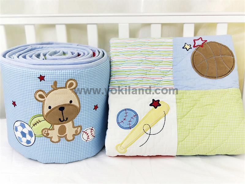Cotton baby bedding set WFT1915