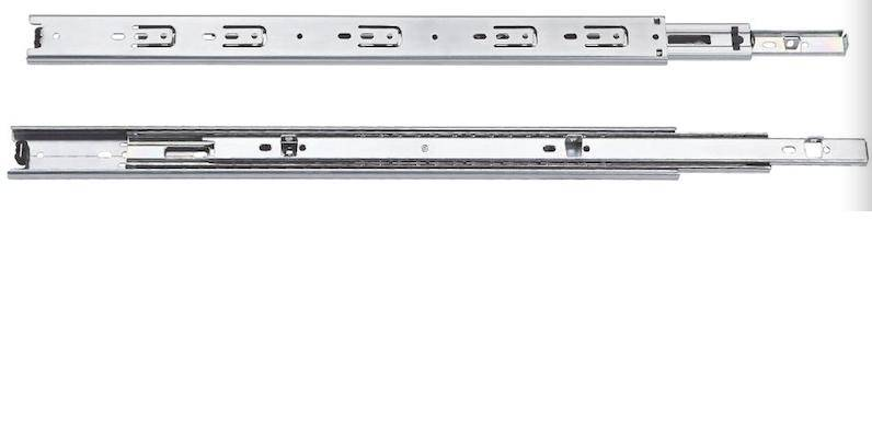 37MM  3704Full Extension Ball Bearing Drawer Drawer Slide,Bottom Mounting Type