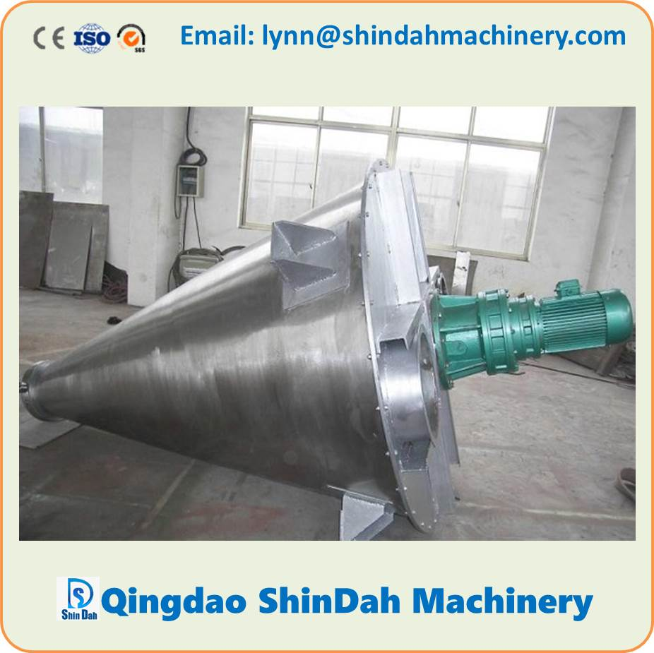 High Quality Double Screw Cone Mixer, Conical Double Screws Mixer, Nauta Mixer, powder mixer