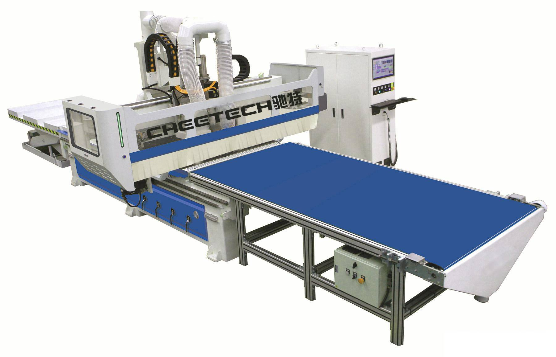 PANEL CUSTOMIZED FURNITURE PRODUCTION LINE(double process with multi-drill cutting)