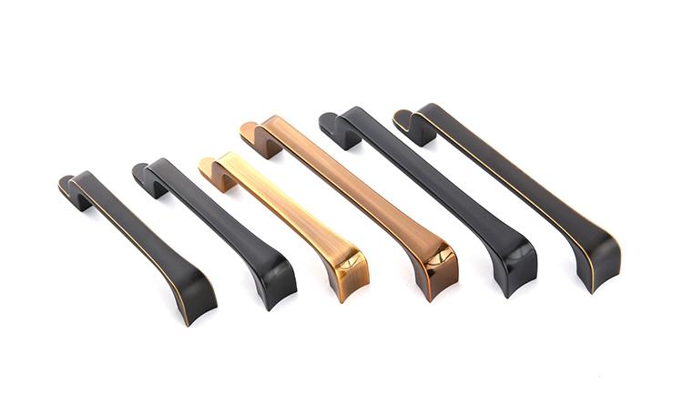 High quality zinc alloy wardrobe kitchen cabinet handles pulls