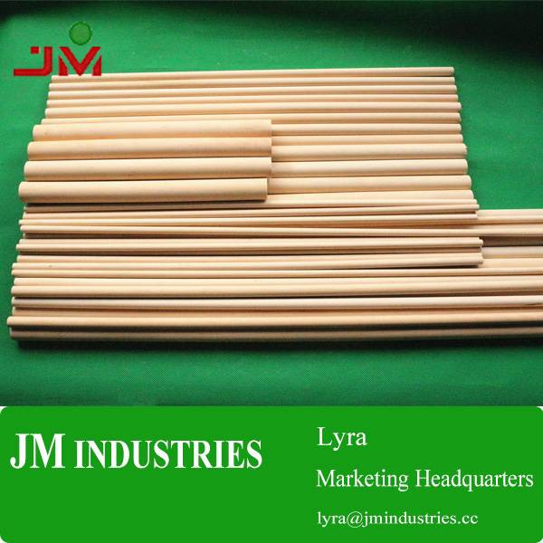 OEM wood dowel rods made in china