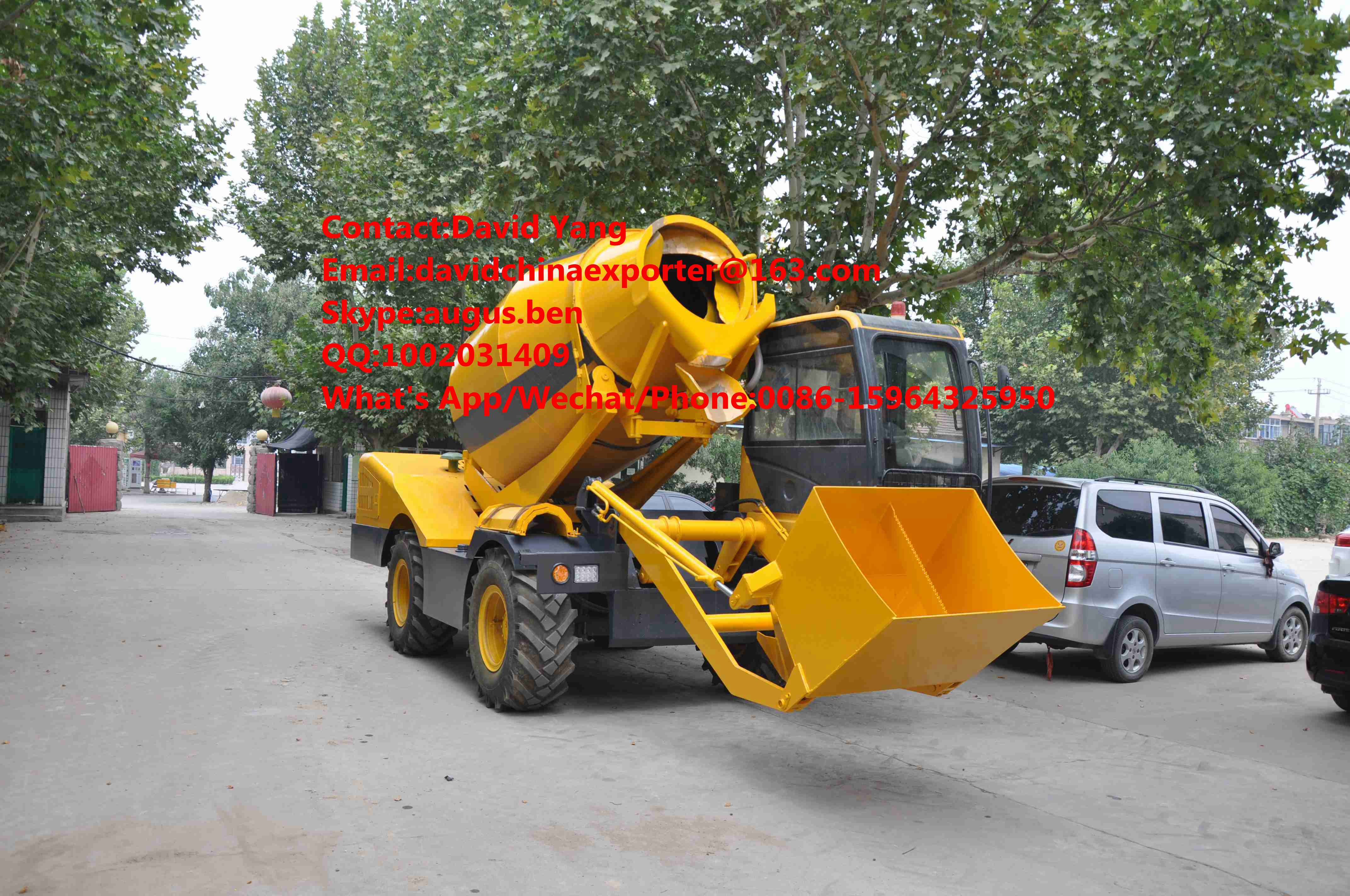 2 M2 Self-loading mobile concrete mixer