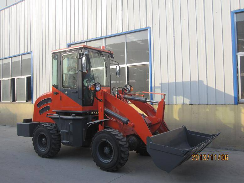 ZL10 compact and hydraulic shovel loader with ce