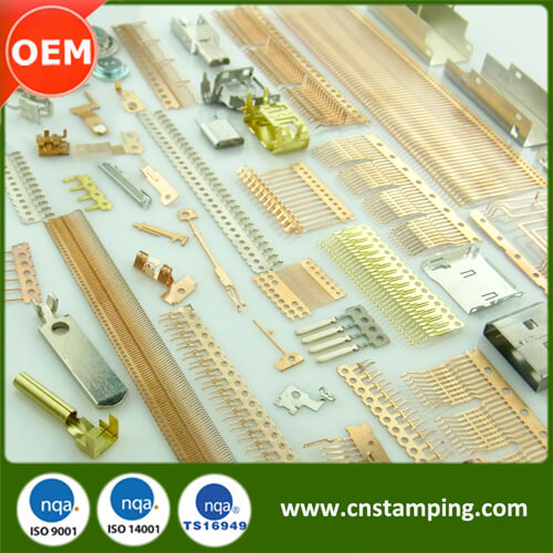 Custom Metal Stamping Service, Precision Stamped Parts, Small Metal Parts