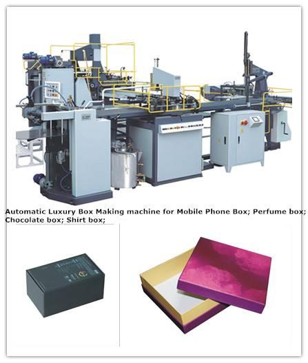 HM-ZD600 Automatic Rigid Box Making Machine