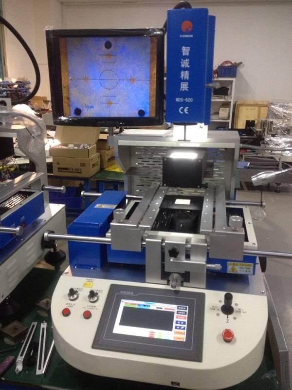Best feedback 110v/220v auto bga rework station WDS-620 optical alignment bga soldering station type