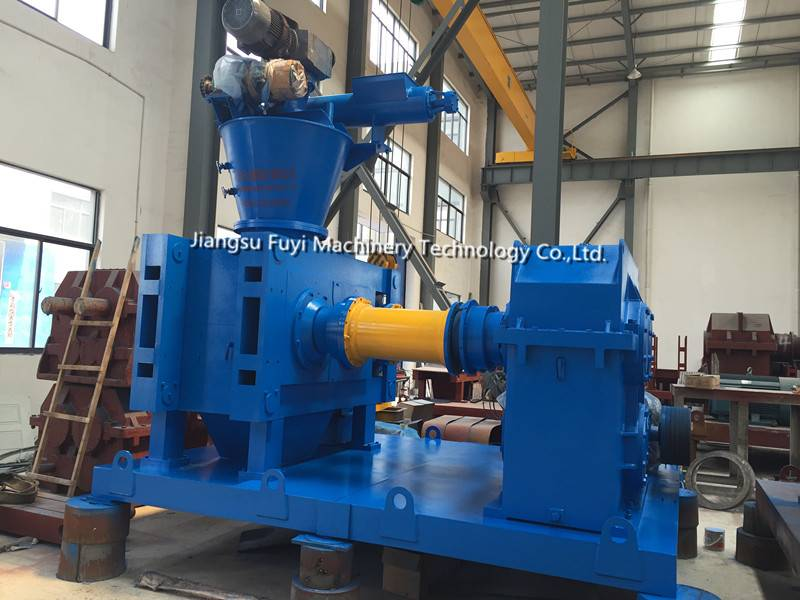 Dry roll granulator machine for fertilizer