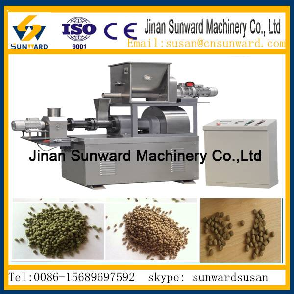 Hot selling automatic  floating fish feed machine