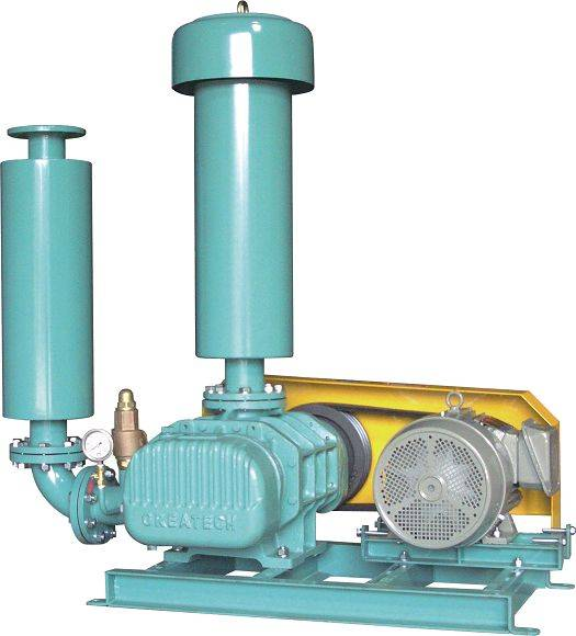 Greatech Tri. Lobe Roots Blower (water treatment , aquaculture,water solution, waste water treatment