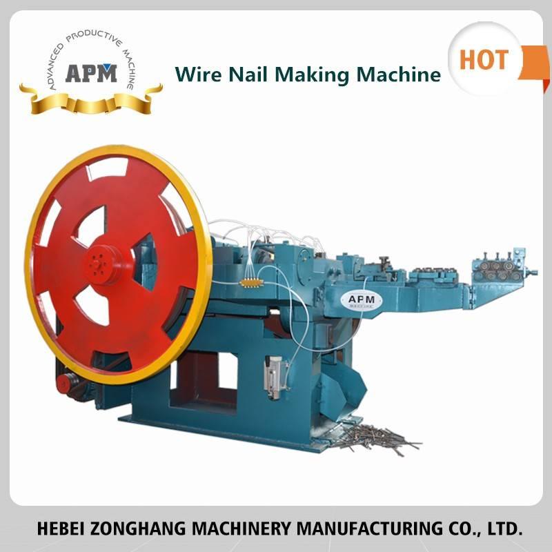 Steel Nail Making Machine