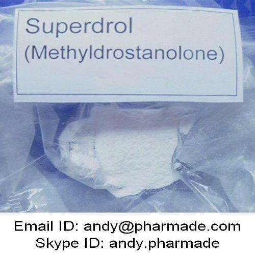 USP BP Superdrol Methasterone Methyldrostanolone Powder Muscle Building