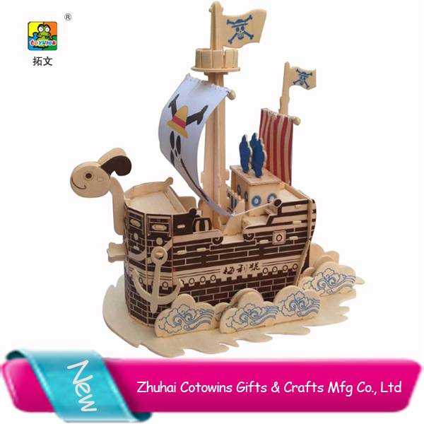 The pop hot saller Japanese Anime One pieces buy Going Merry wooden pirate ship model