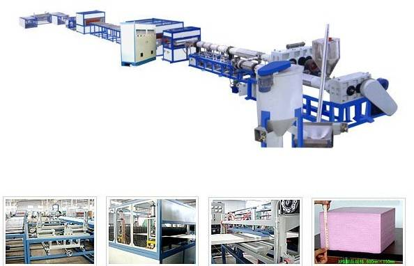 xps foam machine-XPS EXTRUDING PRODUCTION LINE