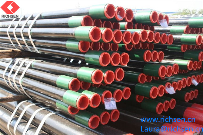 Manufacturer API 5CT Steel Casing Pipe for Oil Gas and Petroleum Drilling pipe