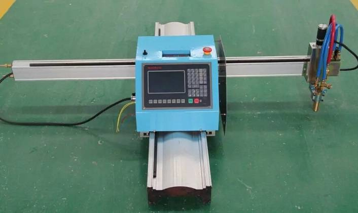 Portable steel cutting machine