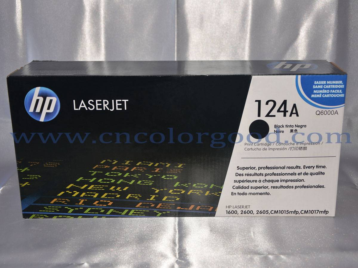 cartridges for Q6000A series hp laser jet printer