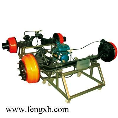 Automobile pneumatic braking system of laboratory equipment