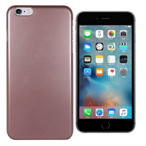 New Metallic Paint Coated Durable Case for iPhone 6s Plus