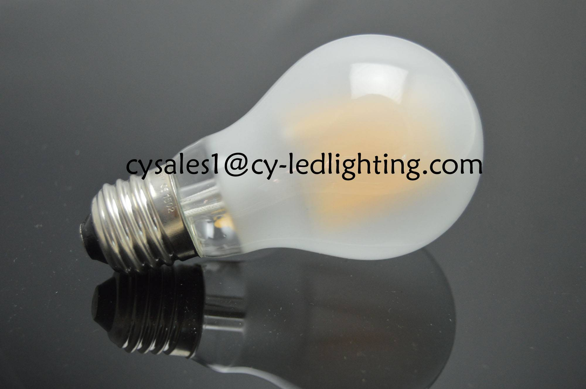 A19 beautiful decorate bulb frosty filament led bulb