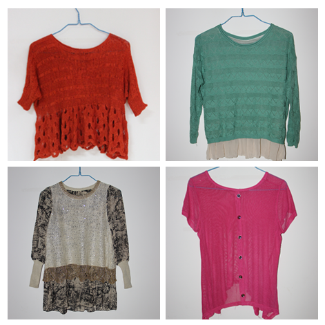 used knitwear sweater women used clothes sale high quality second hand clothing