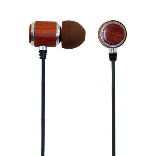 OEM-W130 High quality exquisite wooden earphone with super bass