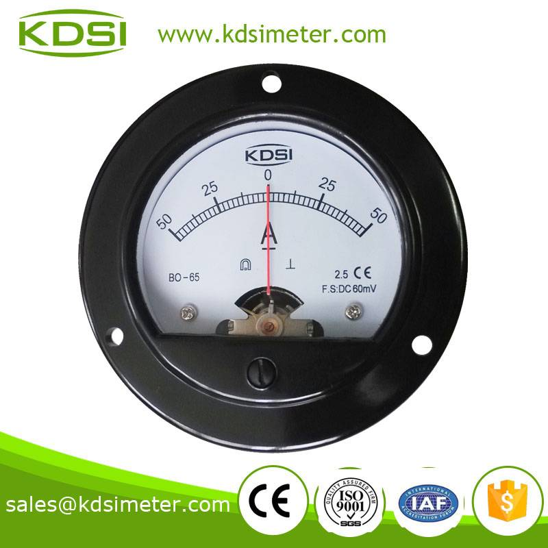 20 Years Manufacturing Experience BO-65 DC+-60mV +-50A electronic ammeter voltmeter