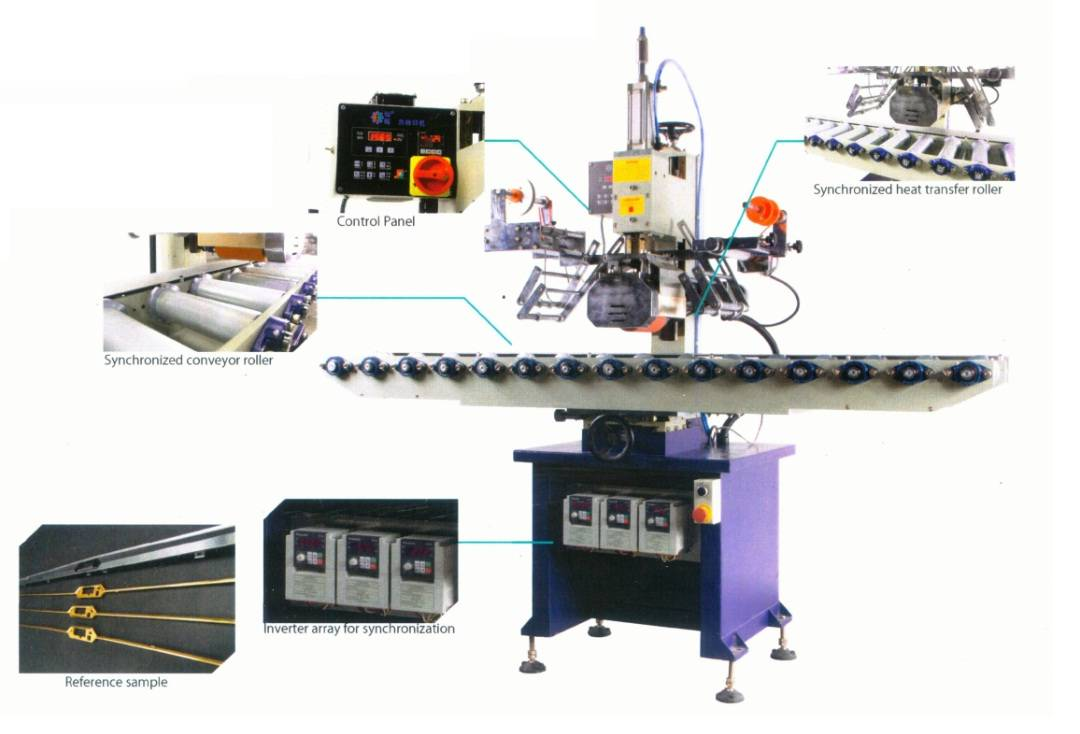 HT-100RQ5A Long Flat Heat Transfer Machine
