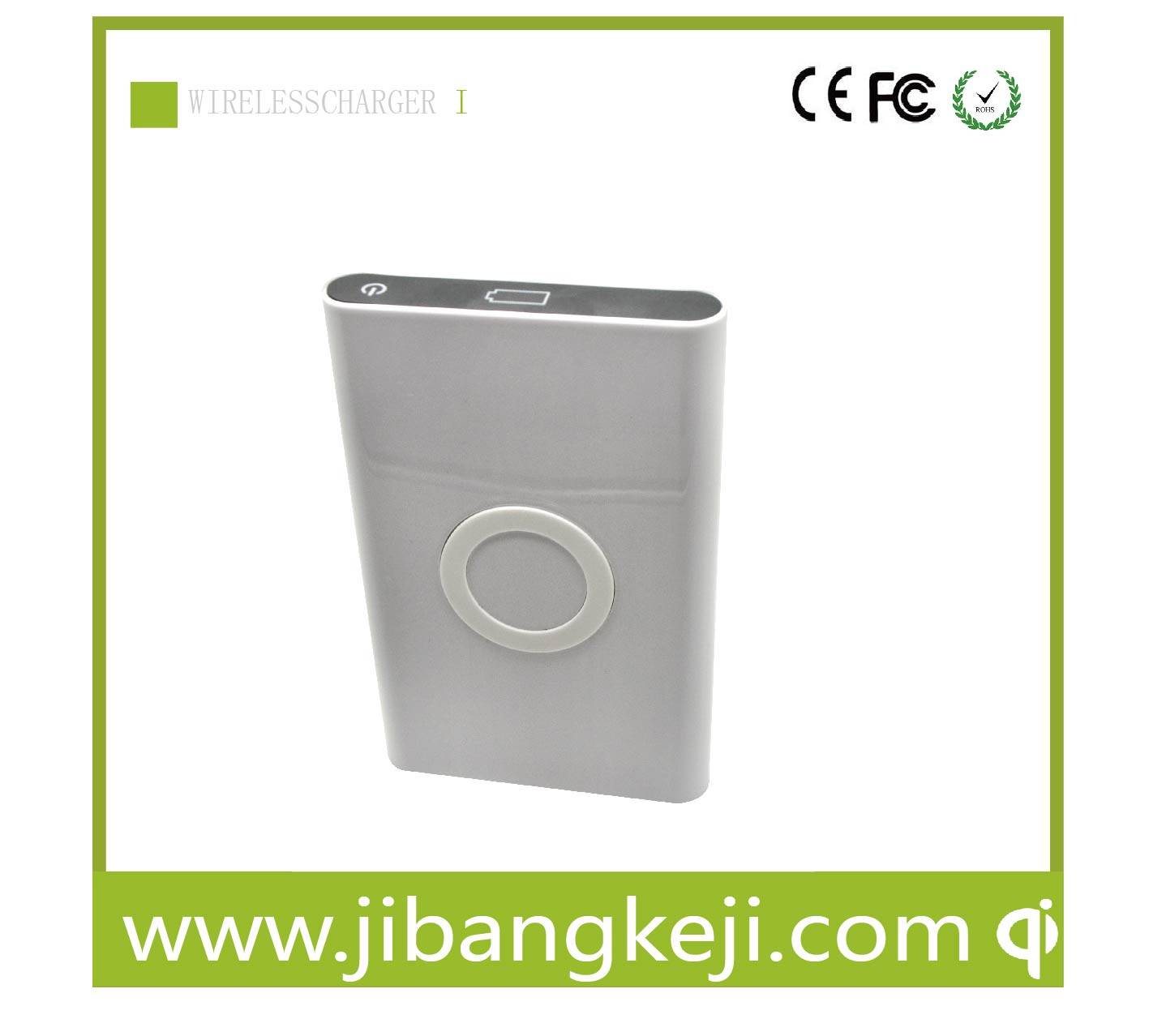 PW-101 Wireless Power Bank charger (QI standard 7000mAh)