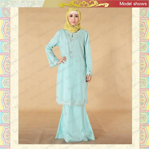 MF19643 muslim prayer clothing dress