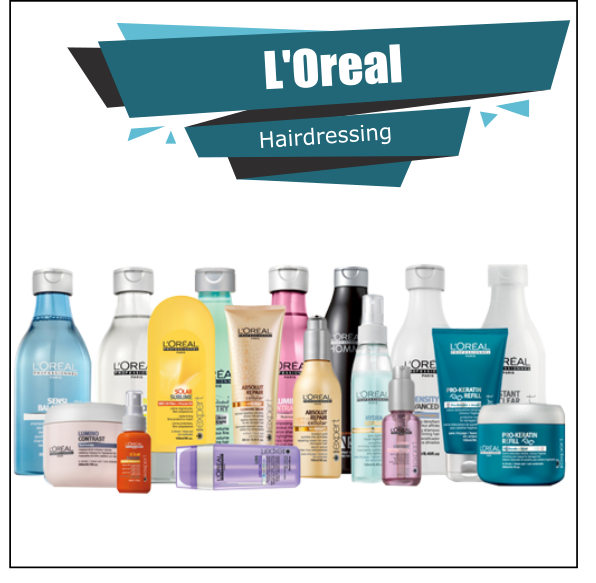 L'Oreal Proffesionel Hair Care Full Offer