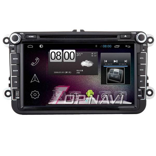 800*480 8inch Android 4.4 Car GPS Player For VW Passat /Golf /Jetta Navigation