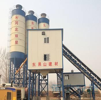 HZS60concrete batching plant technical specifications