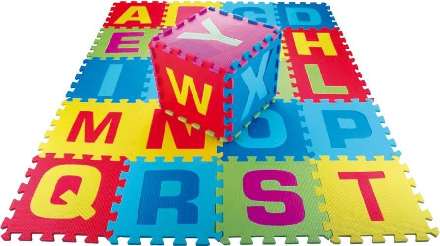 26pcs Alphabet puzzle mat