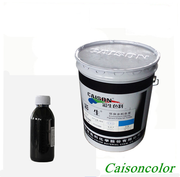Aqueous pigment dispersion for pearlescent mica pigment covered dyeing