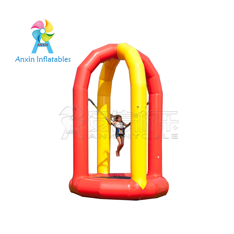 inflatable bungee trampoline, inflatable jumping castle for kids, inflatable air bouncer trampoline