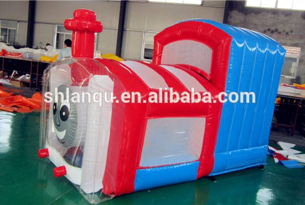 Tomas the train Kids Small inflatable bounce