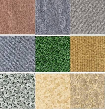 PVC Sheet Flooring &Tile Construction Decorative Material Manufacturers Carpet Series