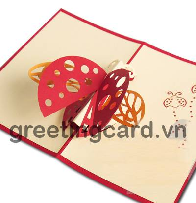Birthday 3D pop up greeting card