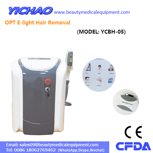 Portable Painless Beauty Opt Elight Diode Permanent Hair Removal
