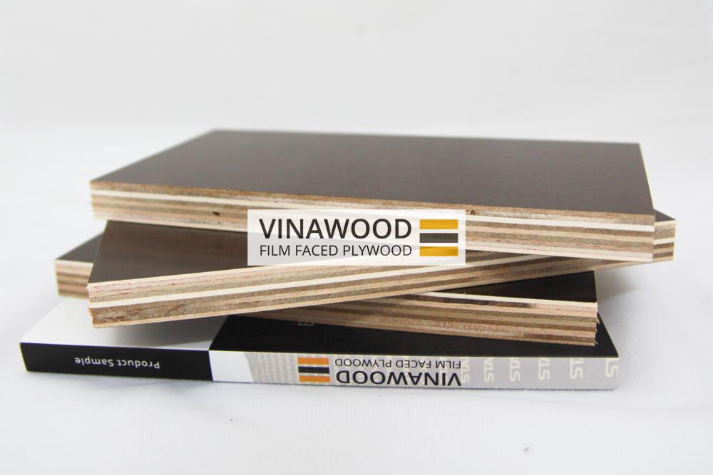 Phenolic Film Faced Brand Film Faced Plywood Vietnam