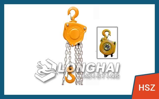 0.75 tons mini chain lever hoist lever hoist installation [equipment] Longhai