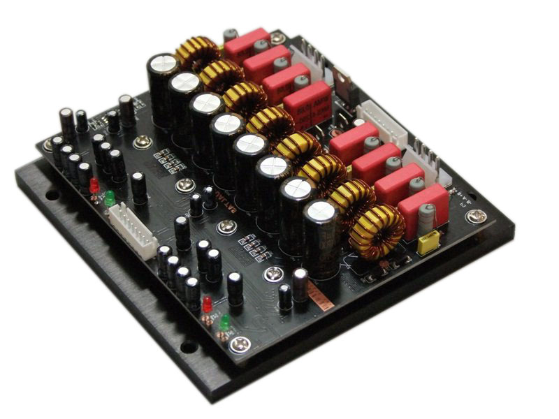 4Channel 1200W Dual TAS5630B High Field Class D Amp Module