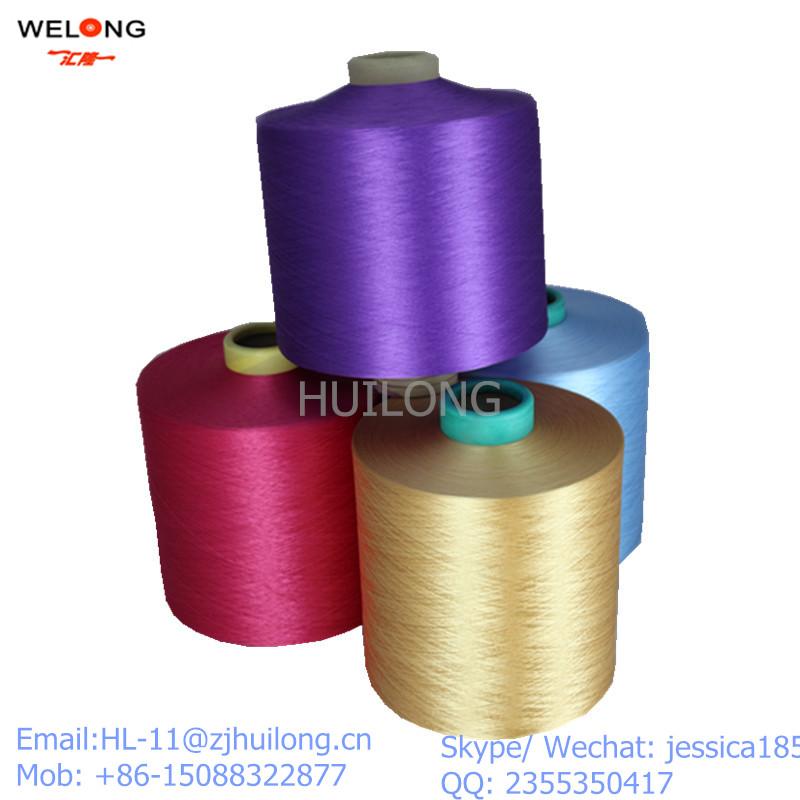 dty polyester bright yarn