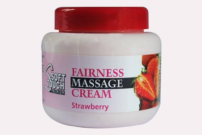 Soft Touch Fairness Massage Cream (Strawberry)