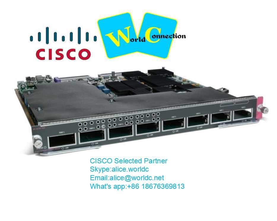 brand new cisco 8 port gigabit module WS-X6708-10G-3CXL