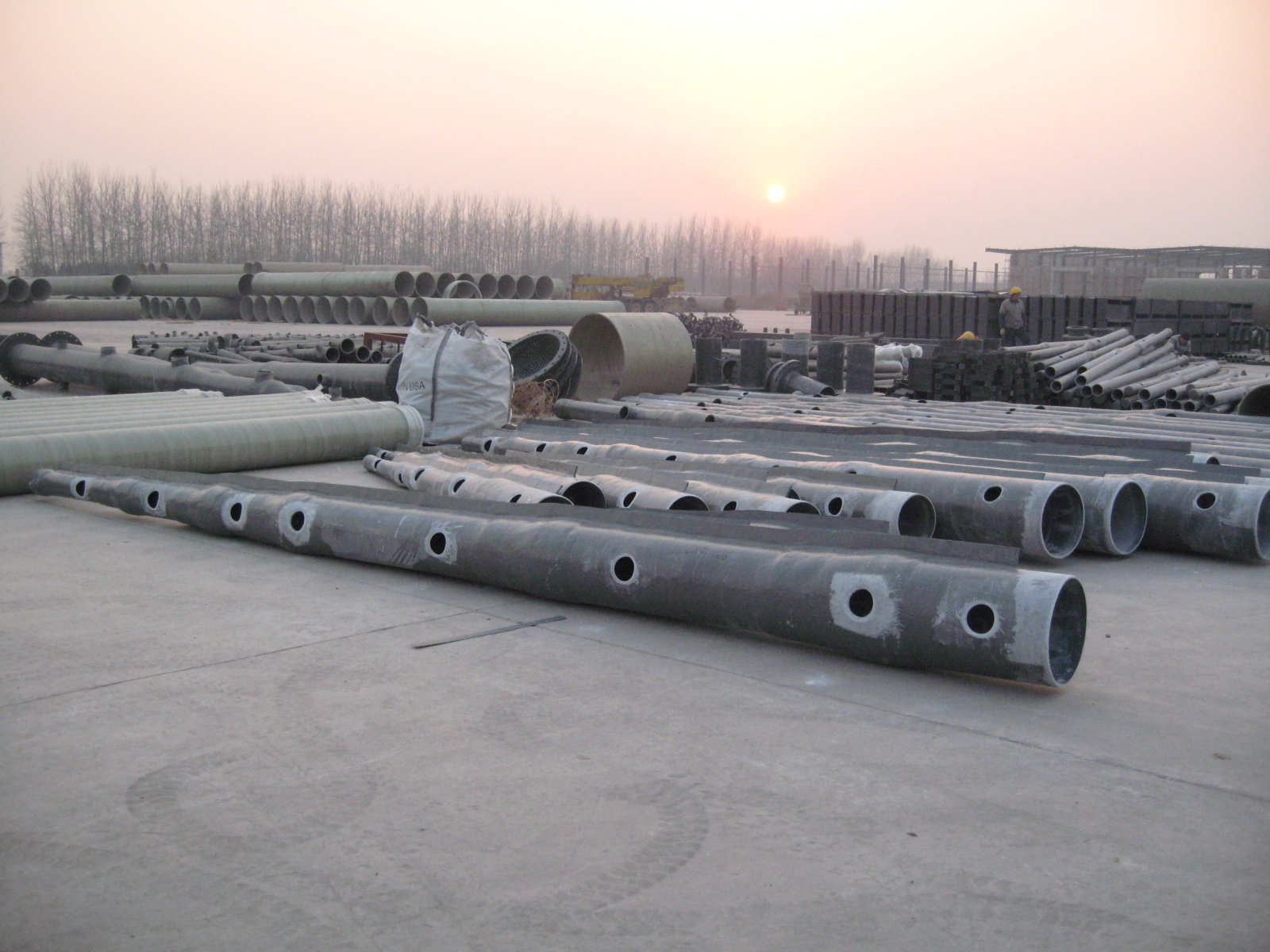FRP/GRP FGD pipe