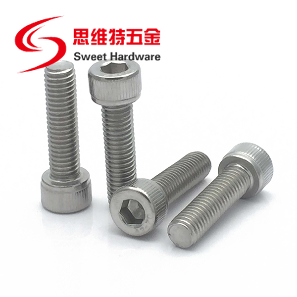Carbon steel black gr12.9 allen socket bolt DIN912 stainless steel 304 bolt customized available