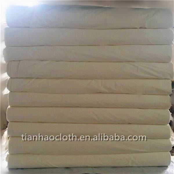 T/C grey fabric for pocketing and interlining fabric factory in China wholesale