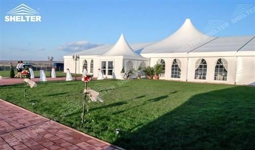 High Peak Tent - Venue Pavilion for Destination Wedding